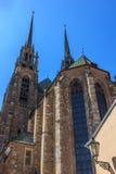 Cattedrale a Brno Fotografia Stock Libera da Diritti