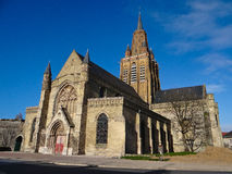 Cattedrale a Calais Immagine Stock