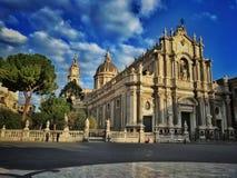 Cattedrale a Catania Fotografia Stock