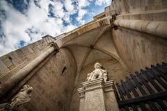 Cattedrale cattolica in Alba Iulia Fotografia Stock Libera da Diritti