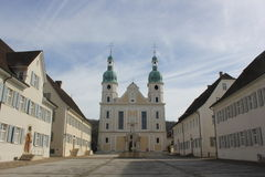 Cattedrale cattolica in Arlesheim Fotografia Stock