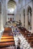 Cattedrale cattolica del vergine di Almudena Immagine Stock Libera da Diritti