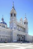 Cattedrale cattolica del vergine di Almudena Fotografia Stock Libera da Diritti