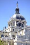 Cattedrale cattolica del vergine di Almudena Fotografia Stock