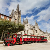 Cattedrale cattolica della Mary di Virgin a Burgos, Spagna Immagini Stock Libere da Diritti