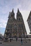 Cattedrale cattolica di Colonia o alta cattedrale di St Peter Fotografia Stock
