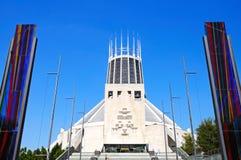 Cattedrale cattolica, Liverpool Fotografia Stock Libera da Diritti