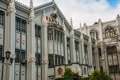 Cattedrale cattolica Manila, Filippine Immagini Stock