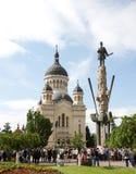 Cattedrale Cluj di Orthdox Immagine Stock Libera da Diritti