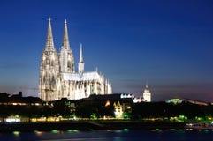 Cattedrale - Colonia/Köln, Germania Immagine Stock