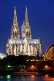 Cattedrale - Colonia/Köln, Germania Immagini Stock Libere da Diritti