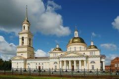 Cattedrale con la torretta di segnalatore acustico Immagine Stock Libera da Diritti
