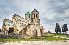 Cattedrale cristiana in Georgia fotografie stock libere da diritti