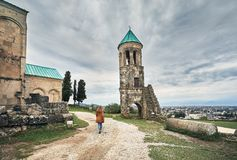Cattedrale cristiana in Georgia immagini stock libere da diritti