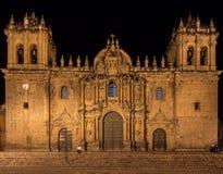 Cattedrale in Cusco Fotografia Stock