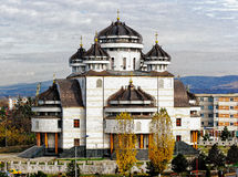 Cattedrale da Mioveni immagini stock libere da diritti