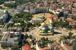 Cattedrale dal cielo Fotografia Stock