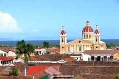 Cattedrale de Granada, Nicaragua fotografia stock libera da diritti