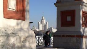 Cattedrale de San Basilio della La a Mosca stock footage