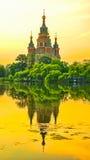 Cattedrale degli apostoli santi Peter e Paul Immagine Stock Libera da Diritti