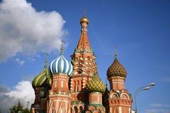 Cattedrale dei basilici del san a Mosca Fotografia Stock