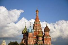 Cattedrale dei basilici del san a Mosca Immagine Stock