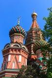 Cattedrale dei basilici della st di Mosca Fotografia Stock Libera da Diritti