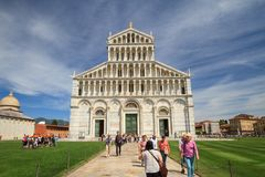 Cattedrale dei Di Santa Maria Assunta, Toscana, Italia del duomo di Pisa fotografia stock