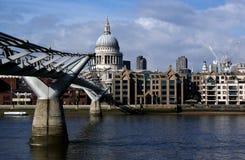 Cattedrale dei pauls del san di Londra Fotografia Stock