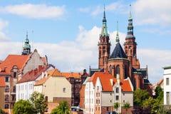 Cattedrale dei san Peter e Paul in Legnica fotografia stock libera da diritti