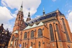 Cattedrale dei san Peter e Paul in Legnica fotografia stock