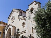 Cattedrale dei Santi Filippo e Giacomo in Sorrento Stock Images