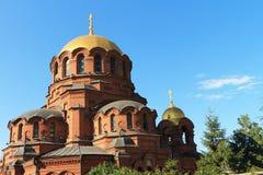 Cattedrale del Alexander Nevski Fotografia Stock Libera da Diritti