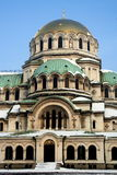 Cattedrale del Alexander Nevsky Immagini Stock Libere da Diritti