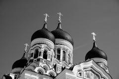 Cattedrale del Alexander Nevsky in Tallinn fotografia stock