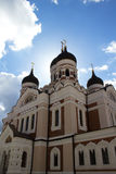 Cattedrale del Alexander Nevsky, Tallinn Immagine Stock