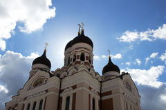Cattedrale del Alexander Nevsky, Tallinn Fotografia Stock