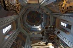 Cattedrale del basilico del san, Mosca, città federale russa, Federazione Russa, Russia Fotografia Stock