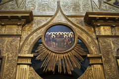 Cattedrale del basilico del san, Mosca, città federale russa, Federazione Russa, Russia Immagine Stock Libera da Diritti