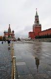 Cattedrale del basilico del san a Mosca, Russia Immagini Stock Libere da Diritti