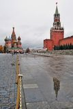 Cattedrale del basilico del san a Mosca, Russia Fotografie Stock Libere da Diritti