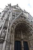 Cattedrale del Belgio Notre Dame Immagini Stock