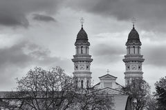 Cattedrale del cattolico greco, Uzhgorod, Ucraina Fotografia Stock Libera da Diritti