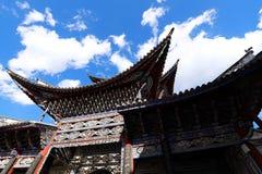 Cattedrale del cuore sacro la chiesa cattolica principale di Dali, il Yunnan, Cina fotografia stock libera da diritti