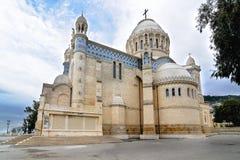 Cattedrale del d'Afrique di Notre-Dame, Algeri Algeria immagini stock