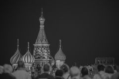Cattedrale del della st Vasily benedetto Immagine Stock Libera da Diritti