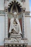 Cattedrale del dettaglio di Firenze L'Italia Fotografie Stock Libere da Diritti
