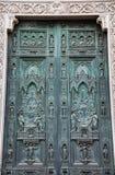 Cattedrale del dettaglio di Firenze L'Italia Immagine Stock