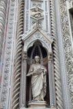 Cattedrale del dettaglio di Firenze L'Italia Fotografie Stock