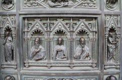 Cattedrale del dettaglio di Firenze L'Italia Immagini Stock Libere da Diritti